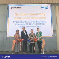 Go-Live Ceremony Warehouse Operation (Beko Appliances Indonesia)