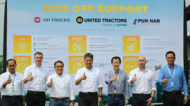 Kick Off Support United Tractor and Puninar