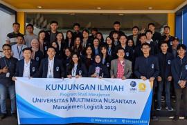 Kunjungan Mahasiswa Manajemen Logistik Universitas Multimedia Nusantara