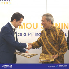 MOU Signing with PT Indonesia Kendaraan Terminal Tbk
